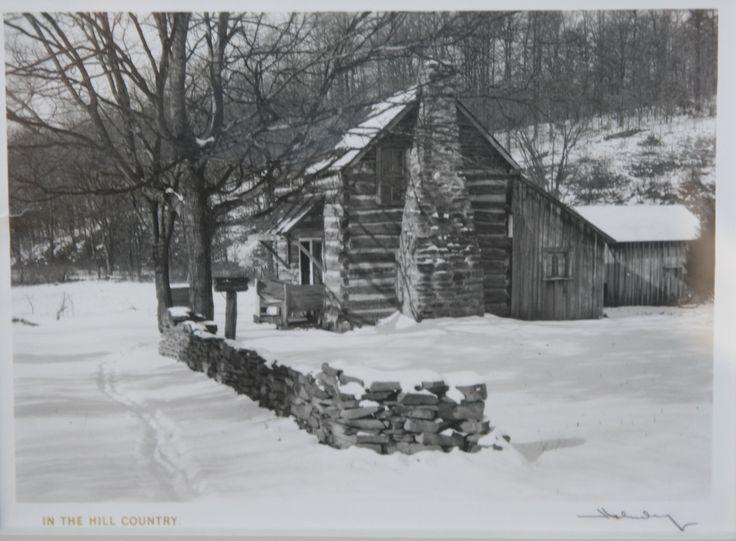 Irene delacroix 39 s cabin frank hohenberger for Ponte coperto cabina brown county