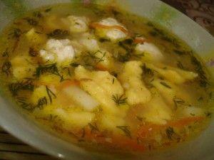Приготовления супа охотничего