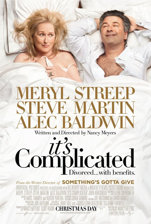 It's Complicated: Meryl Streep, Steve Martin and Alec Baldwin...does it get any better?