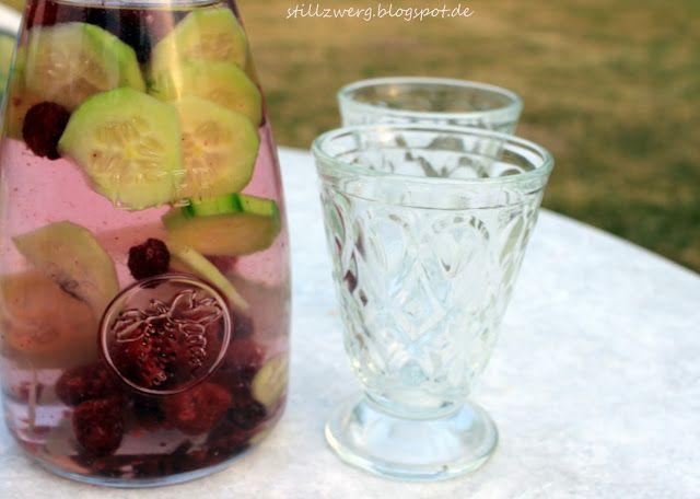 Himbeer-Gurken-Wasser