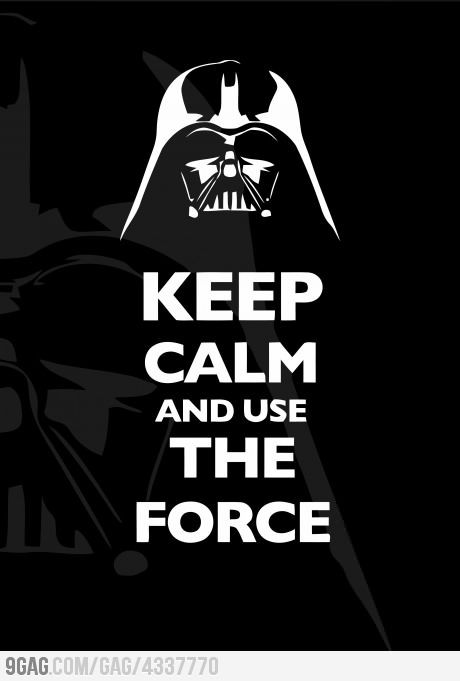 "I don't know where these ""Keep Calm"" posterings are really generating from, but this is one I like..."