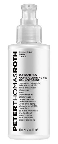 Peter Thomas Roth AHA BHA Acne Clearing Gel review http://www.treatingacnefast.com/peter-thomas-roth-aha-bha-acne-clearing-gel-review/