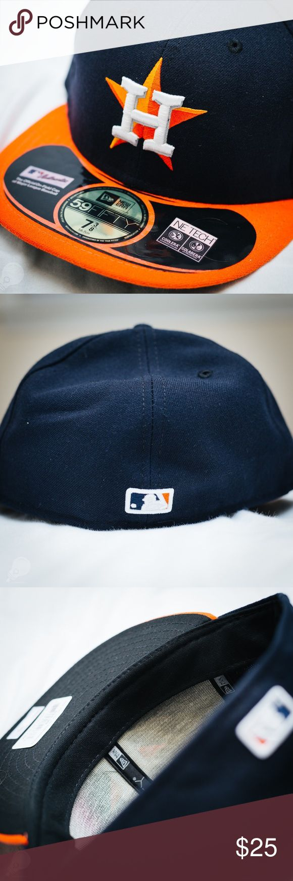New Era 59FIFTY Houston Astros Official Hat Brand New New Era Accessories Hats