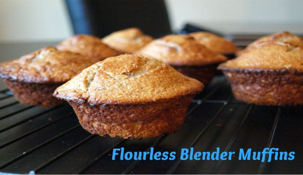 Flourless muffins that are so easy to make you can whip up a batch every morning.