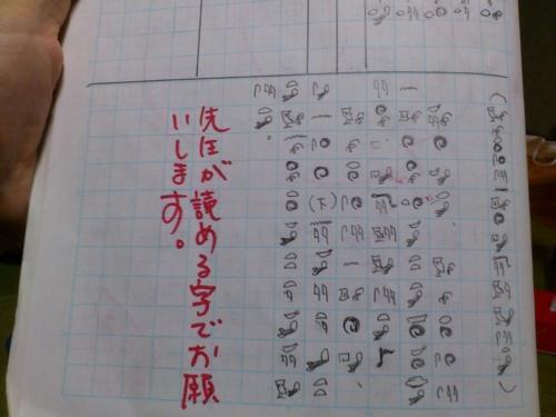 先生が読める字でお願いします。(CROSSBREED クロスブリード!)
