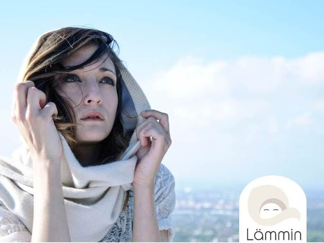 Lämmin - Luxurious High Quality Hooded Scarves by Martin Dutton — Kickstarter