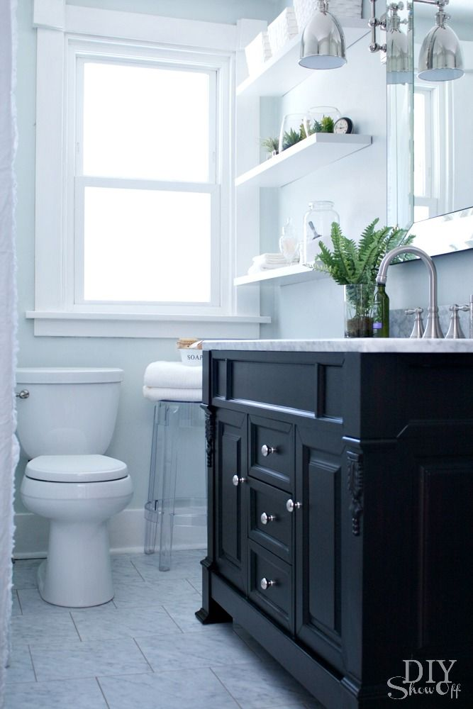 Bathroom Before and After – DIY Show Off  – DIY Decorating and Home Improvement