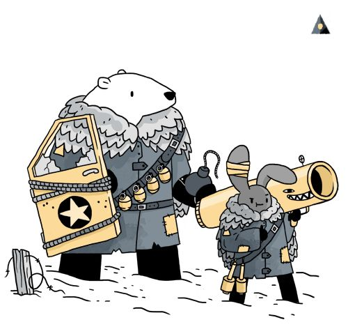 sportdhiver:  TUNDRA CORPS- Big and Little: Demolition Experts - O05  A new squad for sport d'hiver, which i hope you're following!