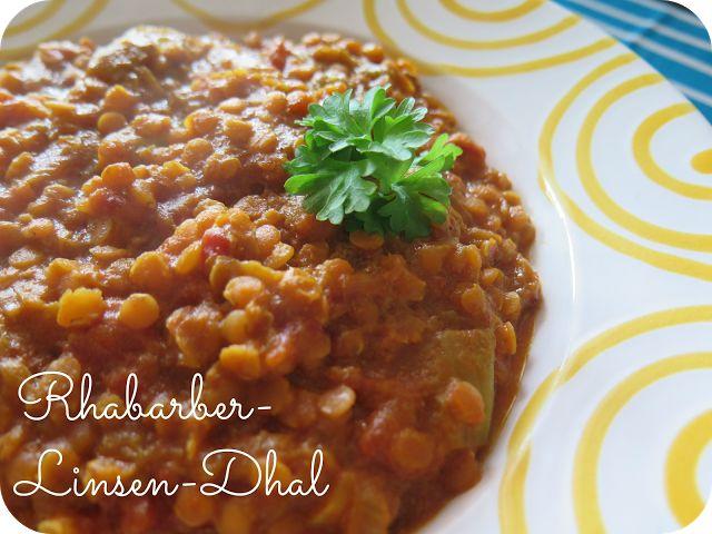 Rhabarber-Linsen-Dhal von From Veggie to Vegan