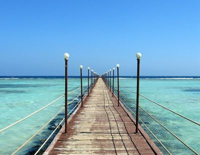 Marsa Alam, Egypt, 130 km south of El Quseir, is a dream come true for those who want a holiday in the wilderness.