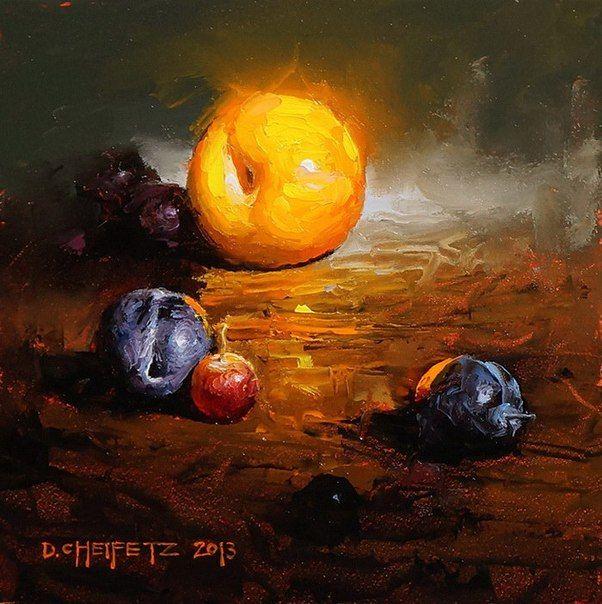 Яркие и сочные картины маслом: solarhome66