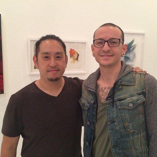 Joe Hahn and Chester Bennington - Linkin Park