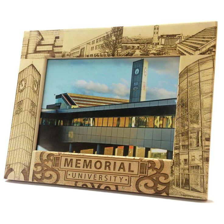 Laser-engraved Wooden frame