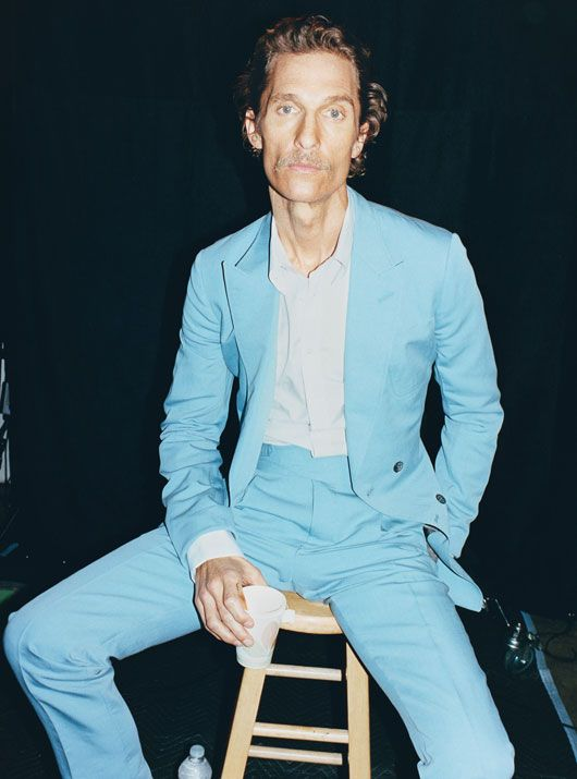 Juergen Teller's portrait of Matthew McConaughey for W Magazine. I love it so much I almost cried when I saw it. Utterly perfect.