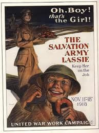 World War #Salvationarmy poster from 1918: Army Lassi, War Poster, Poster Frame-Black, Army Poster, British Poster, Art Poster, War Wwi Poster, Poster Prints, Salvation Army