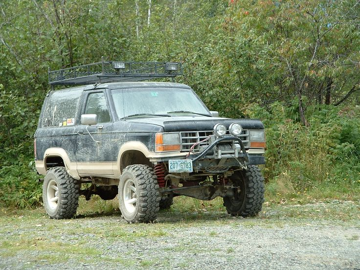 1990 ford bronco II #4x4 #offroad #Grime #dubstep
