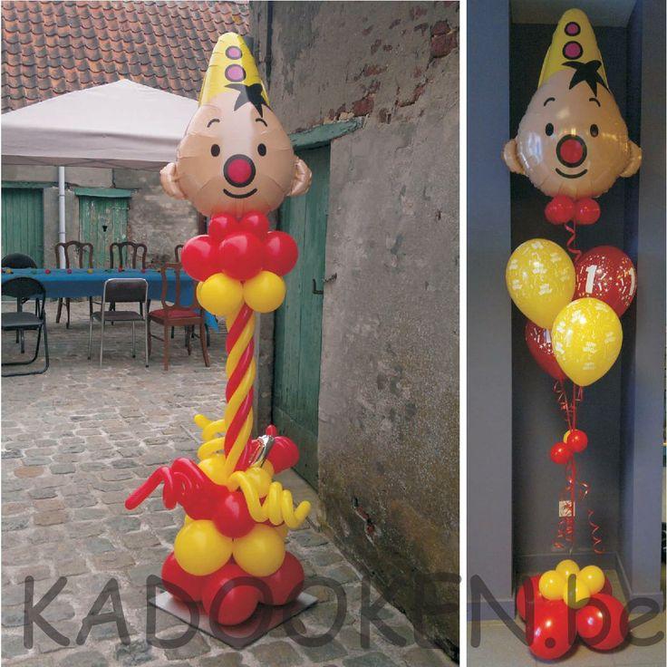 Bumba ballonnen, Bumba ballons voor binnen en voor buiten, 1e verjaardag, versiering verjaardag, heliumballons, ballons, ballondecoratie www.kadooken.be