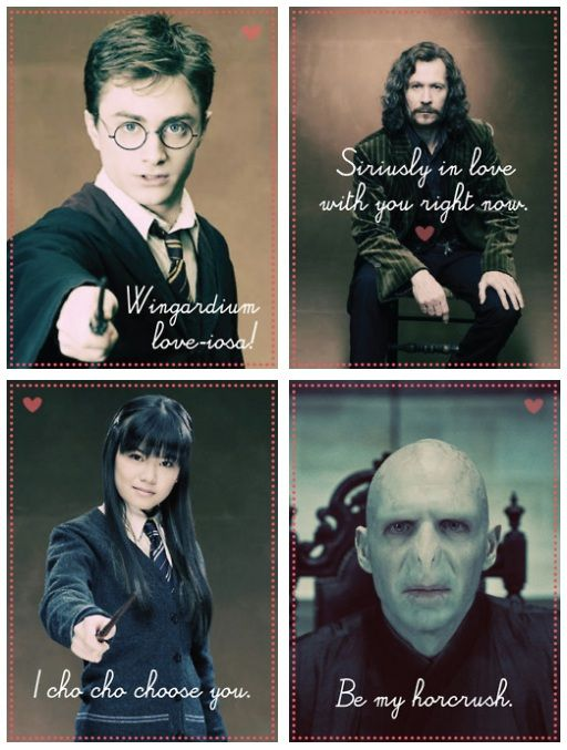 Best Harry Potter Valentines Images On Pinterest Harry Potter - Hilarious harry potter valentines cards perfect special wizard life