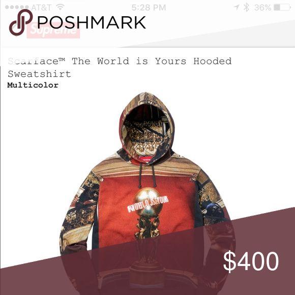Supreme Scarface Sweatshirt / Hoodie Supreme Scarface Sweater Supreme Sweaters