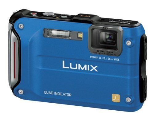 Panasonic digital cameras Lumix tough design waterproof model ultramarine blue DMC-FT4-A by Panasonic. $363.56. Panasonic digital cameras Lumix tough design waterproof model ultramarine blue DMC-FT4-A