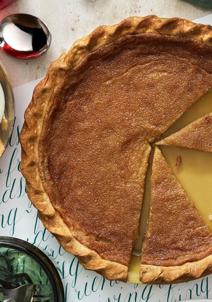 Thanksgiving Recipe: Maple Pie || If you're looking for a pie option beyond the classic pumpkin this Thanksgiving, we've got you covered with this crowd-pleasing maple pie.
