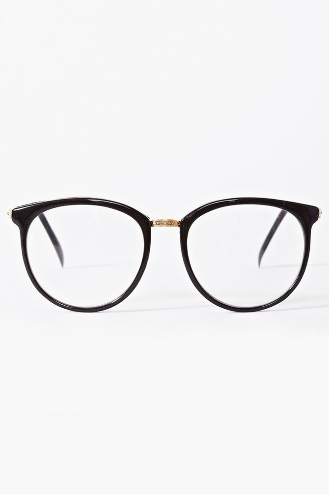 Ivy League Glasses in Black