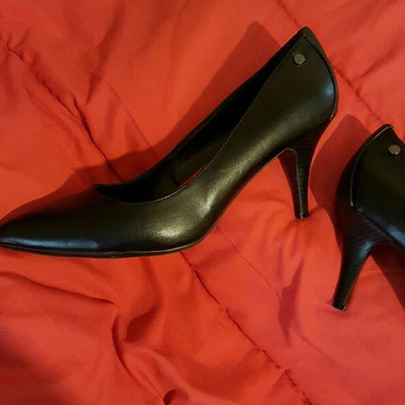Gently used Calvin Klein Pumps Black Calvin Klein Pumps, good condition. Comfortable wear. Calvin Klein Shoes Heels