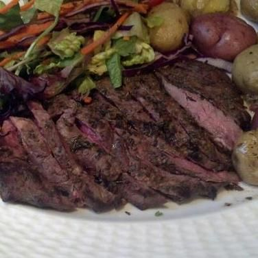 how to cook flat iron steak broil