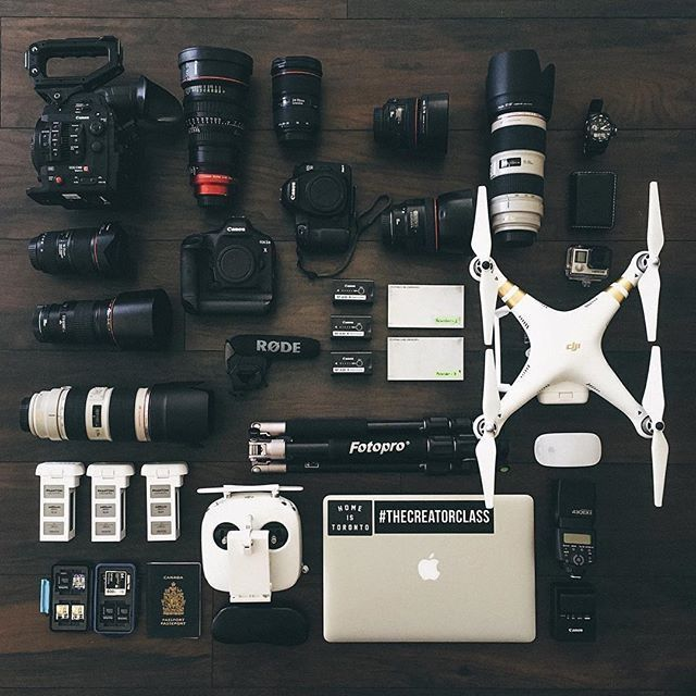 A little bit of everything!! #Amazing #gear collection & photo by @alenpalander Tag a filmmaker/photographer who appreciates good gear!