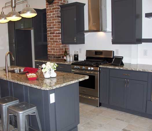 Best Kitchens Gray Images On Pinterest Cabinet Colors - Kitchen remodeling knoxville tn