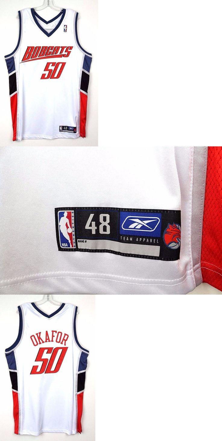 0fa2edf0c63 ... nba basketball jersey Basketball-Other 205 Charlotte Bobcats White 50  Emeka Okafor Reebok Home Basketball Jersey ...
