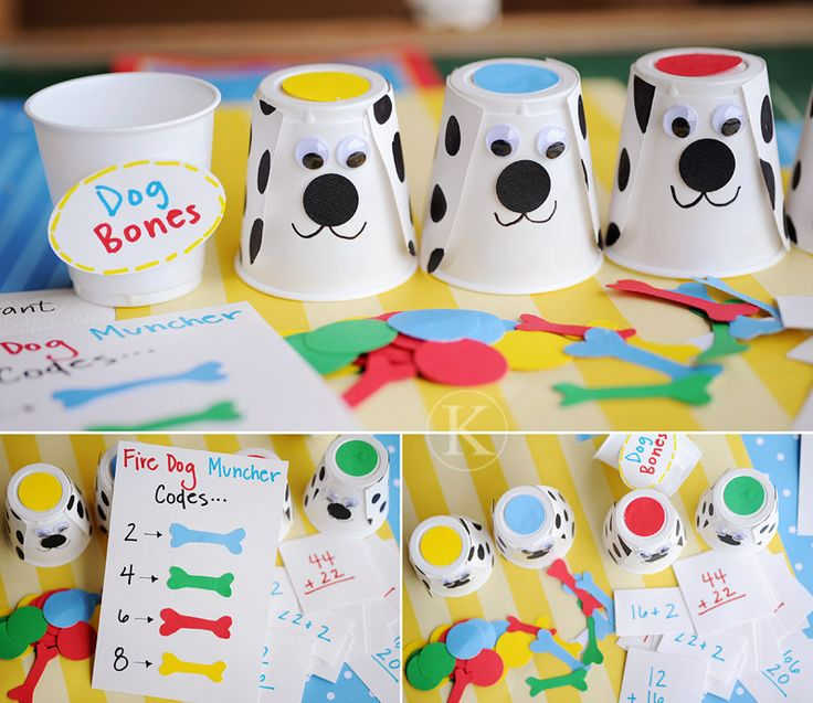 Fire Safety Week starts next Monday, so I've included some extra fun ideas to teach fire safety for kids.  I even decided to make one myself and show you the photos.  You can see it here at Fire Safety Week Activities for Kids  Fire Safety for Kids  Fire Dog Cups & Math Game Check ...