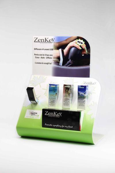 Sinergie di oli essenziali 100% puri e naturali per Zenkey diffusore ad ultrasuoni USB