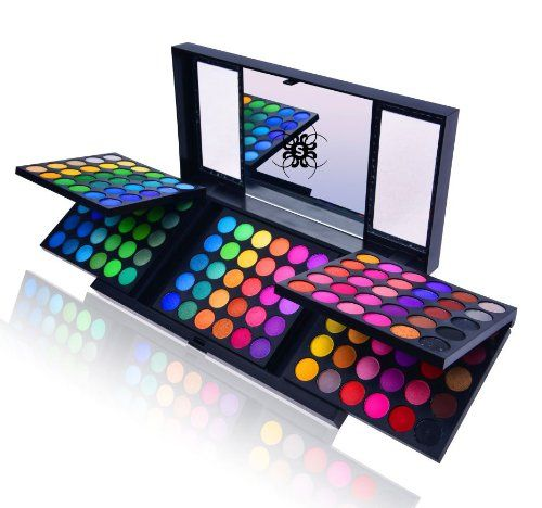 awesome SHANY 180 Color Eyeshadow Palette (180 Color Eyeshadow Palette, United Colors of SHANY, Neon Frenzy, Limited), 6.25 Ounce