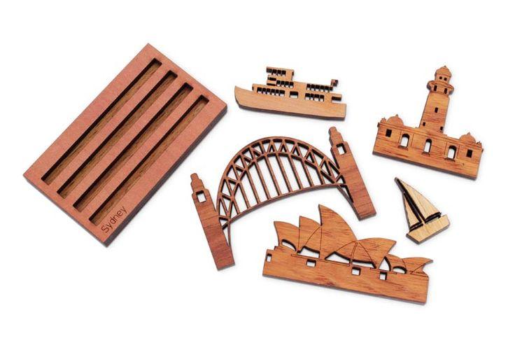 Buy Mini Sydneyscape Puzzle | Australian Woodwork | Australian Woodwork