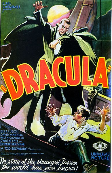Dracula film posters: in pictures