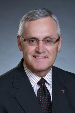 Youngstown State University President Jim Tressel