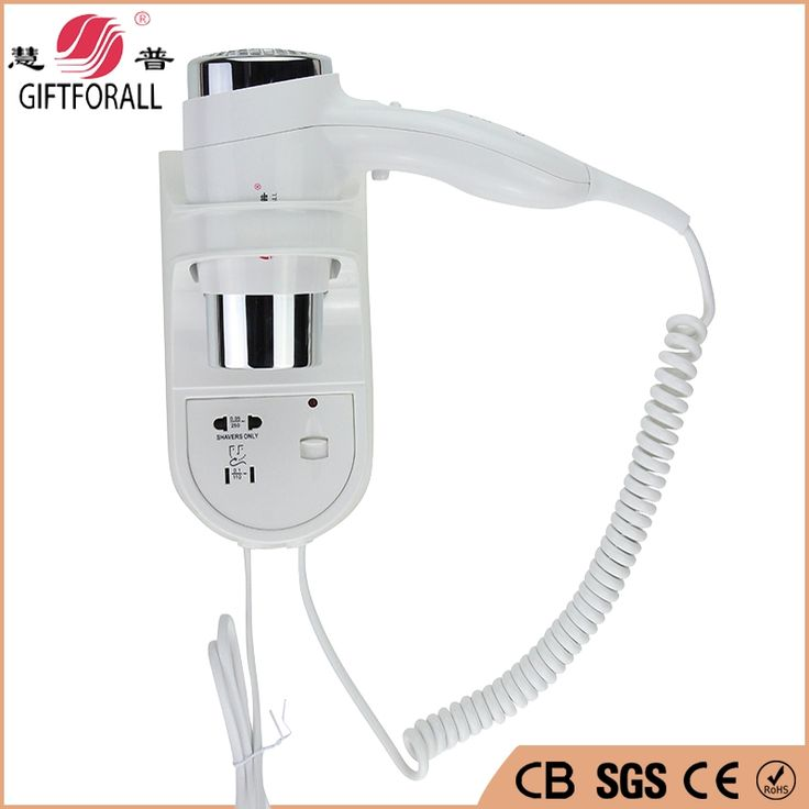 49.98$  Watch here - http://aliawq.shopchina.info/go.php?t=32530435846 - GIFTFORALL Wall Mounted Hotel Hair Dryer Guest house Hot/Cold Air Hairdryer Eu Uk And Us  Plug hair blow dryer Professional 49.98$ #aliexpress