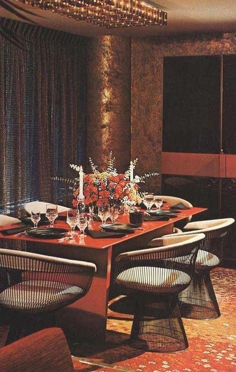 Dining room design from better homes and gardens 1975 for Better homes and gardens dining room ideas