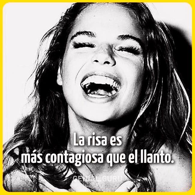 La risa es más contagiosa que el llanto