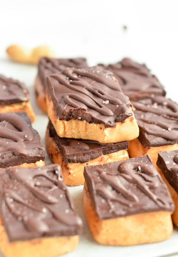 No Bake Peanut Butter Bars Are Healthy Dessert Made With 6 Simple