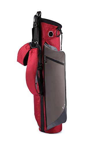 Golf Carts Ideas | WELLZHER Unisex Quantum Lite WSB404 Quantum Lite Collapsible Sunday Golf Bag Burgundy ** You can find out more details at the link of the image. Note:It is Affiliate Link to Amazon.