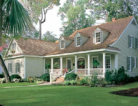 Plan W32436WP: Corner Lot, Southern, Farmhouse, Photo Gallery, Country House Plans & Home Designs
