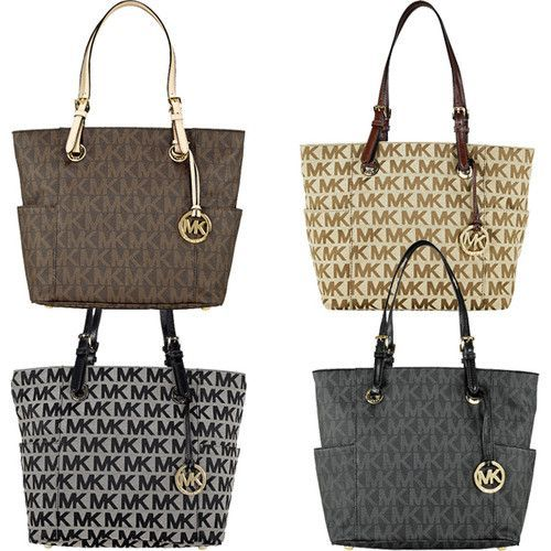 bags michael kors outlet 29v7  Details about Michael Kors Jet Set Signature Logo Tote
