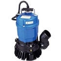 """Tsurumi HS2.4S-62 - 53 GPM (2"""") Submersible Trash Pump. This pump comes with all copper windings and permanent magnet motor. These features provide maximum potential life for the pump and reduced electric consumption. Another Tsurumi exclusive is the wicked electrical cords to prevent any seepage of water into the motor.     This model comes with a rubber Urethane impeller. Do you know that will last 3 times the life of old cast iron impellers?"""