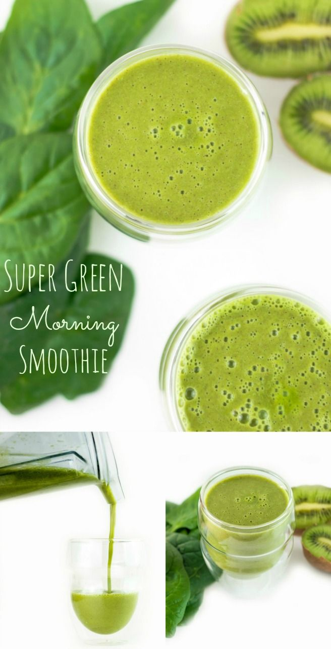 This super green, high protein morning smoothie is packed with goodness, which will allow you to really kick start your day.