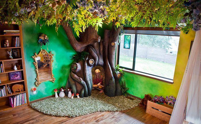 Волшебный мир для маленькой феи: отец создал для своей дочери настоящую эльфийскую сказку