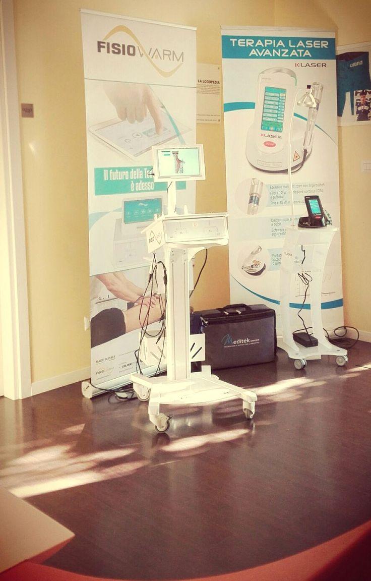 Laser e Tecar Esposizione Meditek #elettromedicali Corso #Taping Kinesiologico  Terzigno