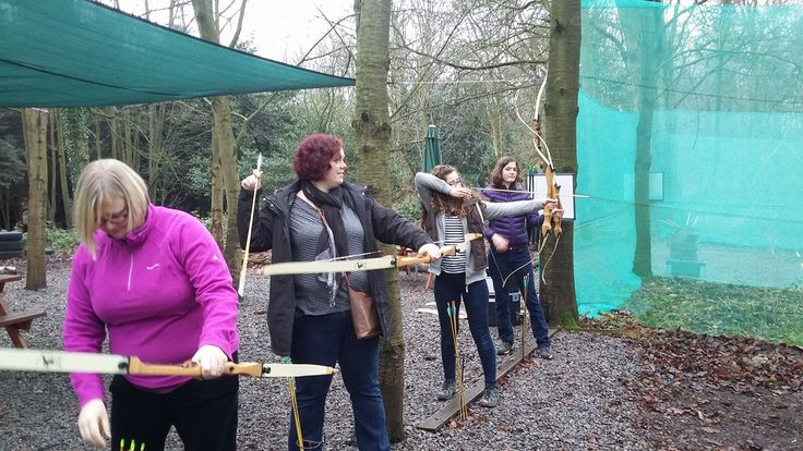 Archery is the perfect activity for all the family! Ideal for kids and adults alike :)