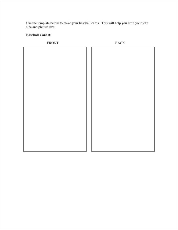 26 visiting baseball trading card template for word with